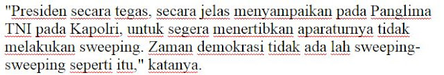 Kok Tumben ya beliau tegas hehe liat nih Ketegasan Jokowi saat TNI/Polri acak-acak yang berbau komunis - Naon Wae News