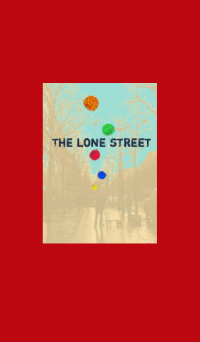 The lone street