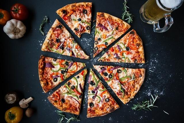 belajar matematika, math, bilangan pecahan, pizza