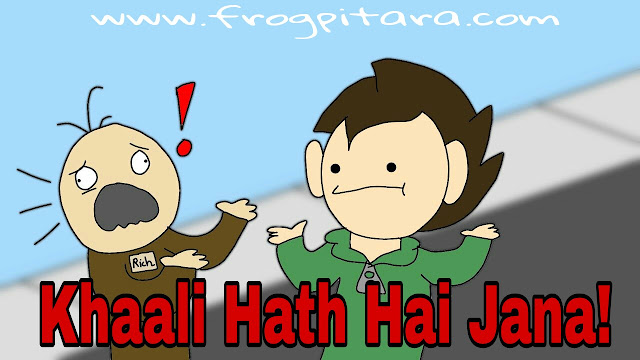 Interesting Motivational Stories In Hindi-Khali Hath Hai Jana