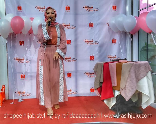Hijab Stars Tours by Shopee #shopeedayout #shopeehijabstyle