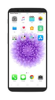 Tema Oppo IOS 11 White Untuk Oppo A83, A3S, A3, A5, F5, F7 dan Realme