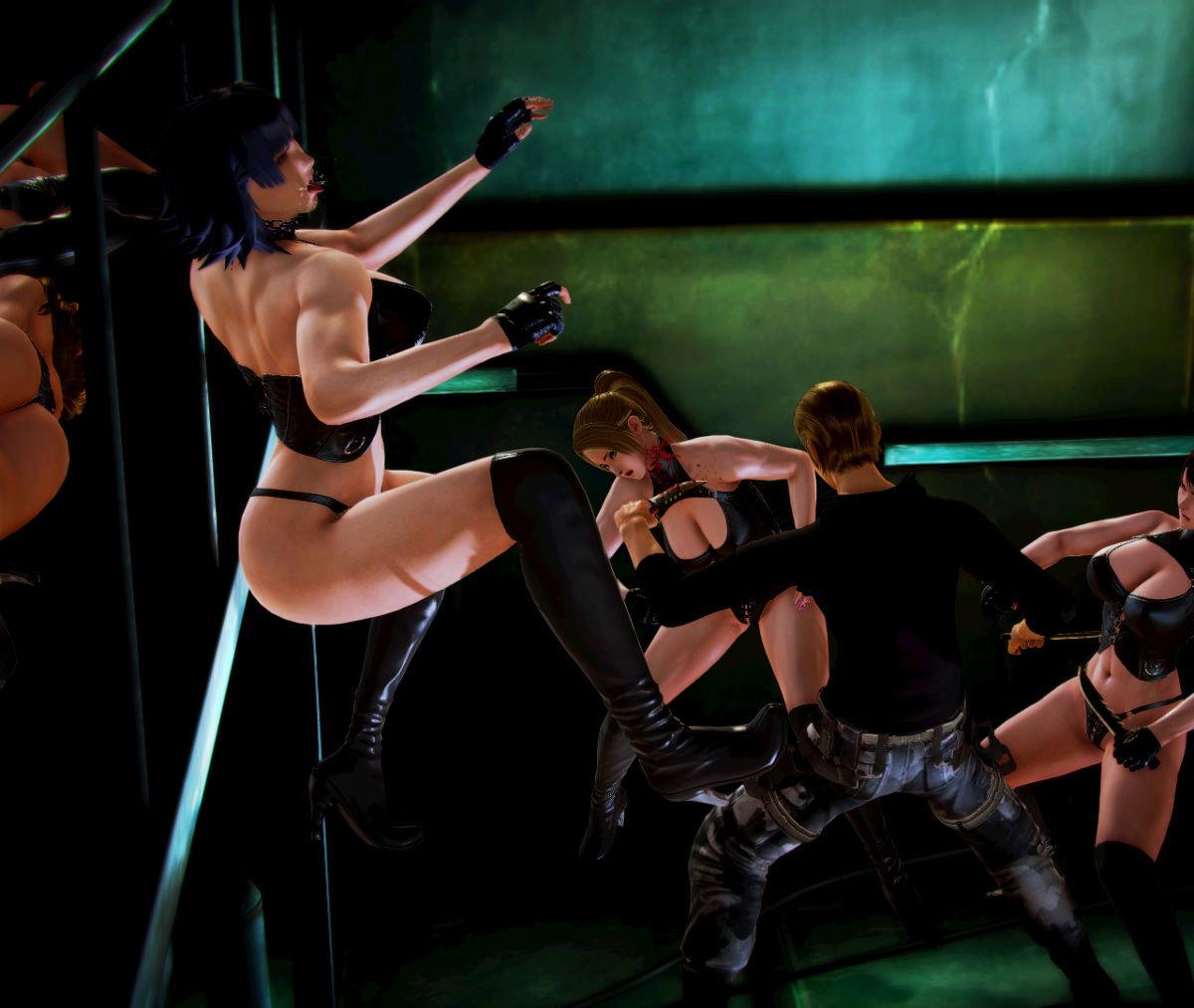Hình ảnh 006 in Truyện Hentai 3D Nữ chiến binh Ryona