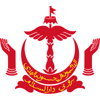 Logo Gambar Lambang Simbol Negara Brunei Darussalam PNG JPG ukuran 200 px