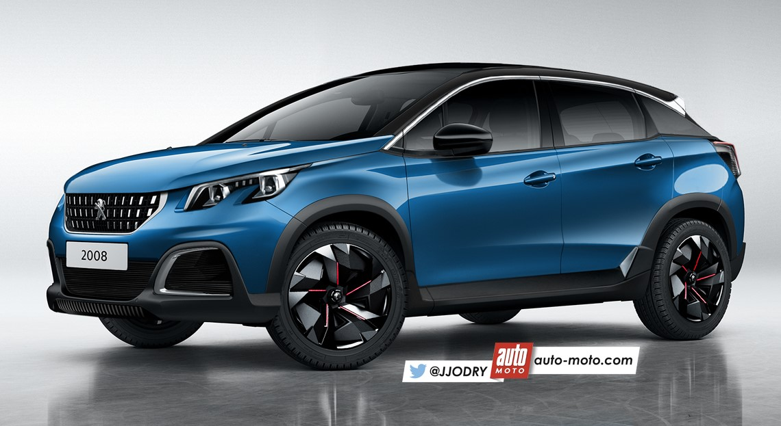 Peugeot 2008 2019 >> 2019 Peugeot 2008 Render Ms Blog
