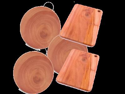 Thớt gỗ xà cừ