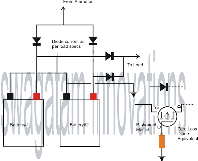 connecting batteries in parallel without cross discharge
