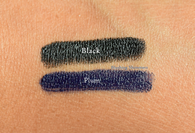 Loreal Infallible Silkissime Eyeliner : Plum,Black swatch