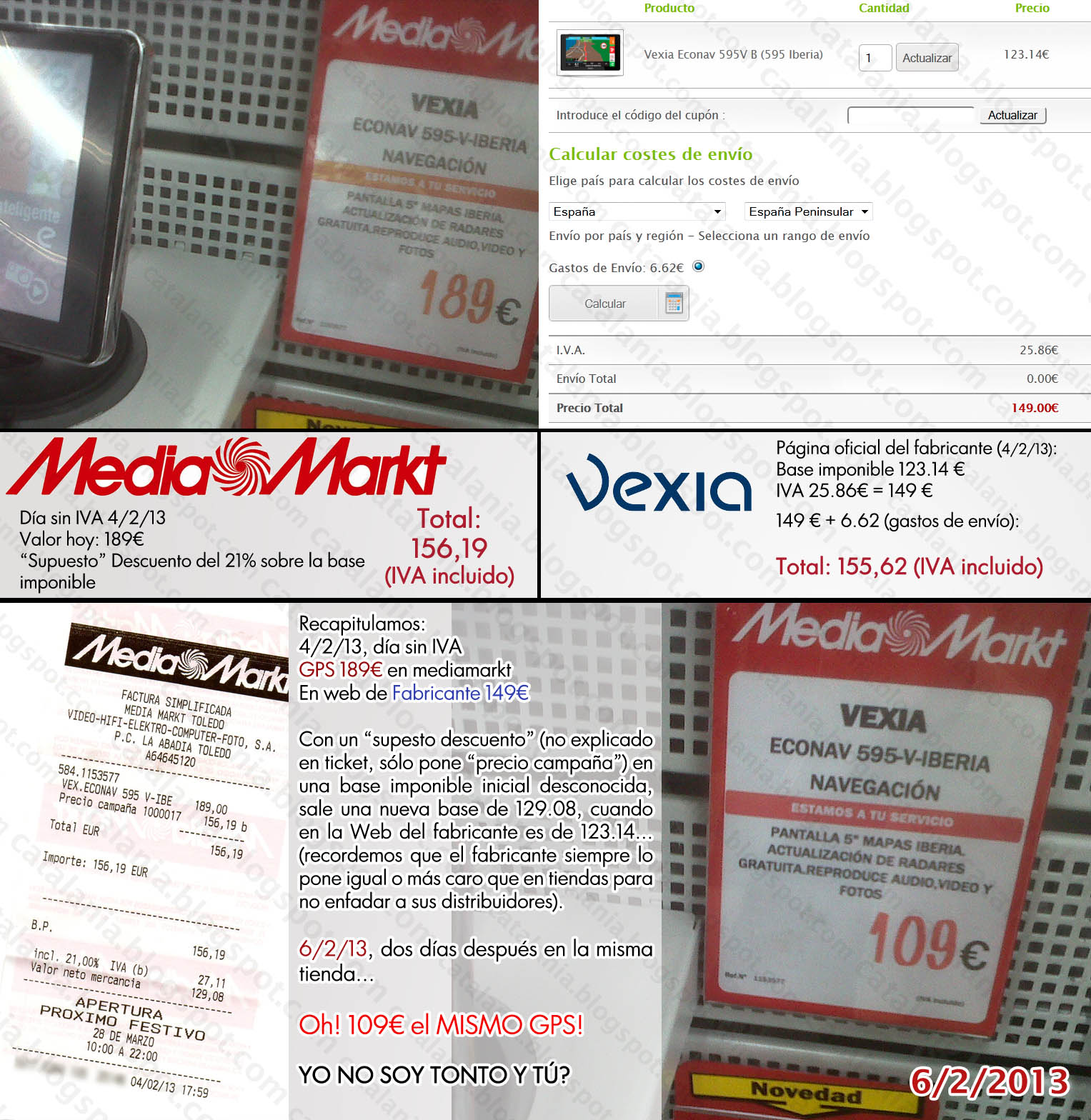 Catalania mediamarkt la estafa del d a sin iva for Media markt fotos precios
