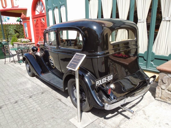 1935 Chevrolet Model EC-601 picture car Public Enemies