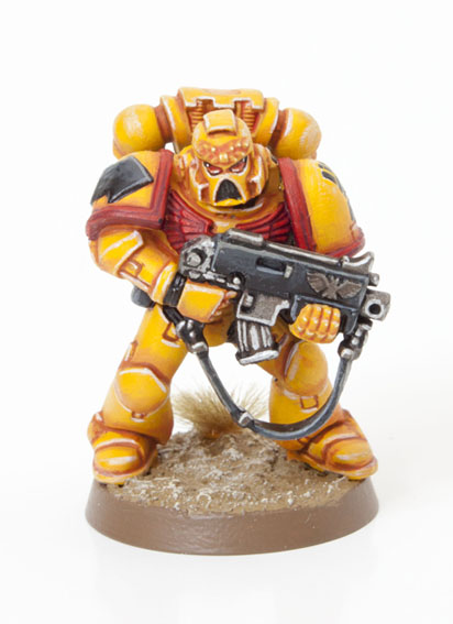 Tutorial How To Paint Imperials Fist Space Marines Tale