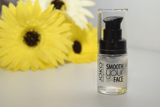 J'ai testé pour vous : Smooth your face JOKO Make up