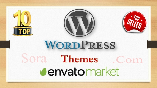 List of Top 10 Wordpress Themes on Envato Market