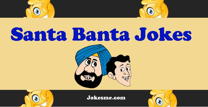 Santa Banta Very Funny Jokes in Hindi