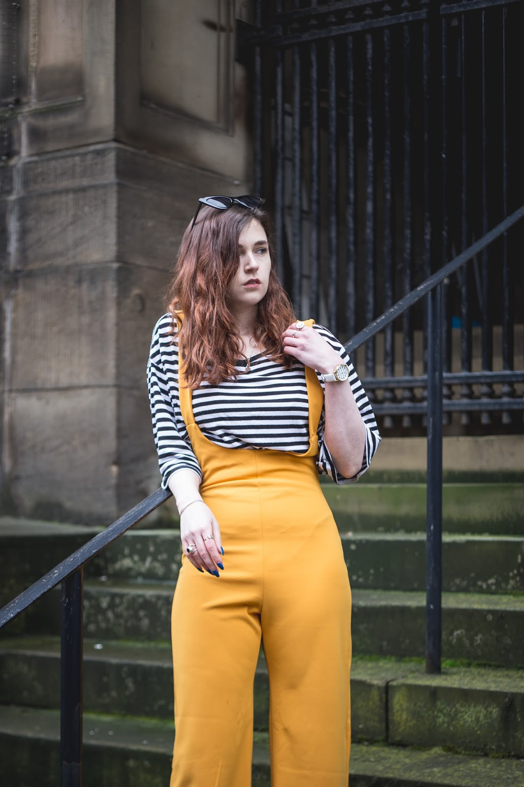 yellow and stripes