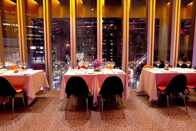 Robert Restaurant em Nova York