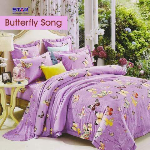 Butterfly Song Ungu bahan star