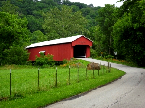 Bushing Covered Bridge