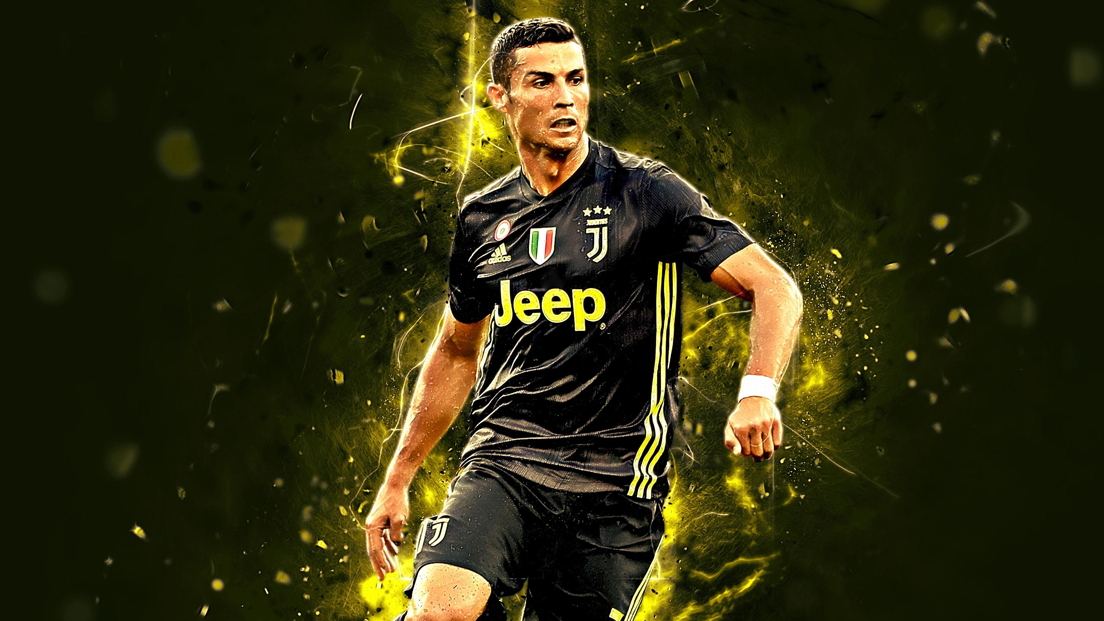 Cristiano Ronaldo Football 4k Wallpaper 336