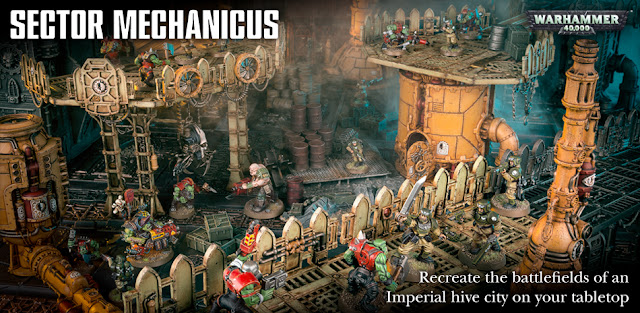 Games Workshop Discounted Warhammer 40K Sector Mechanicus Scenery