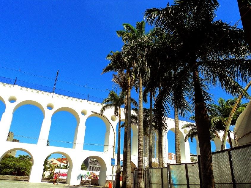 Arcos da Lapa, no Centro Histórico do Rio de Janeiro