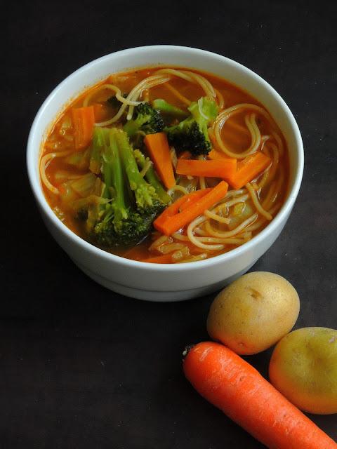 Thukpa, Noodle Soup