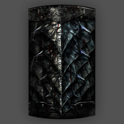 Que tal adicionar este escudo para uso de um templário negro ou algoz?