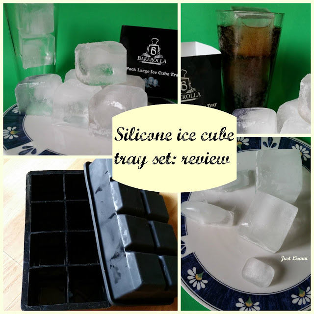 silicone ice cube tray set review