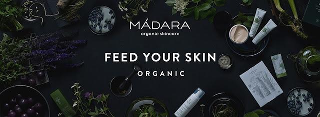 MÁDARA. Organic skincare