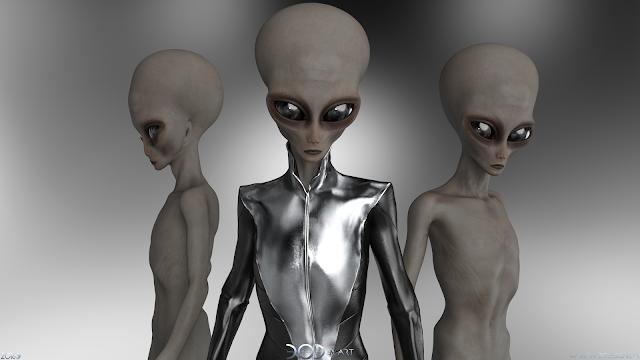 UFO, EBE, Extraterrestrial, OVNI, Alien, 3D Art, Daz3D, Daz Studio, Digital Art