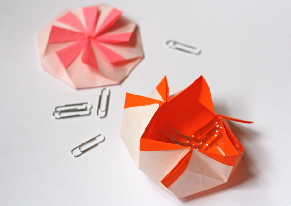 Origami octagonal pouch | How About Orange - photo#49