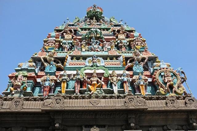 design in Kapaleeswarar temple