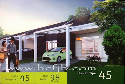 Rumah Hunian tipe 45 minimalis dan strategis di kota batam 2016