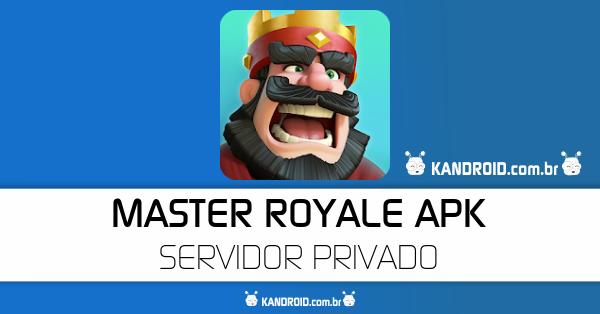 Master Royale APK MOD - Atualizado (28/05/2018)