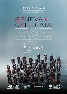 Concierto de Geneva Camerata en Bogotá