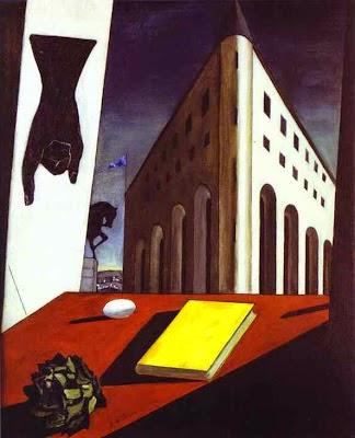 Primavera em Torino - Giorgio de Chirico ~ Representante da pintura metafísica