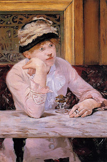 Edouard Manet - The Plum