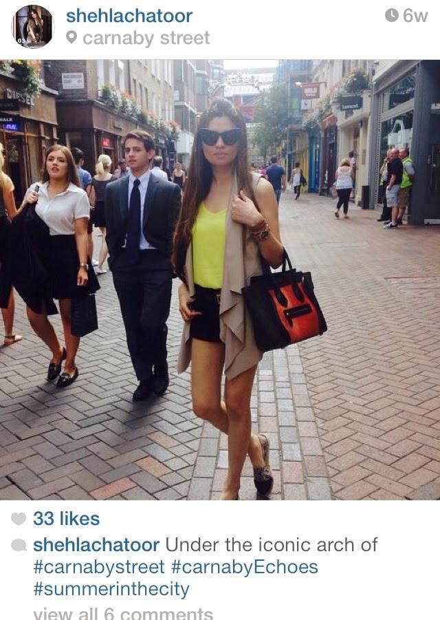 Shehla Chatoor -  Pakistan Instagram Accounts