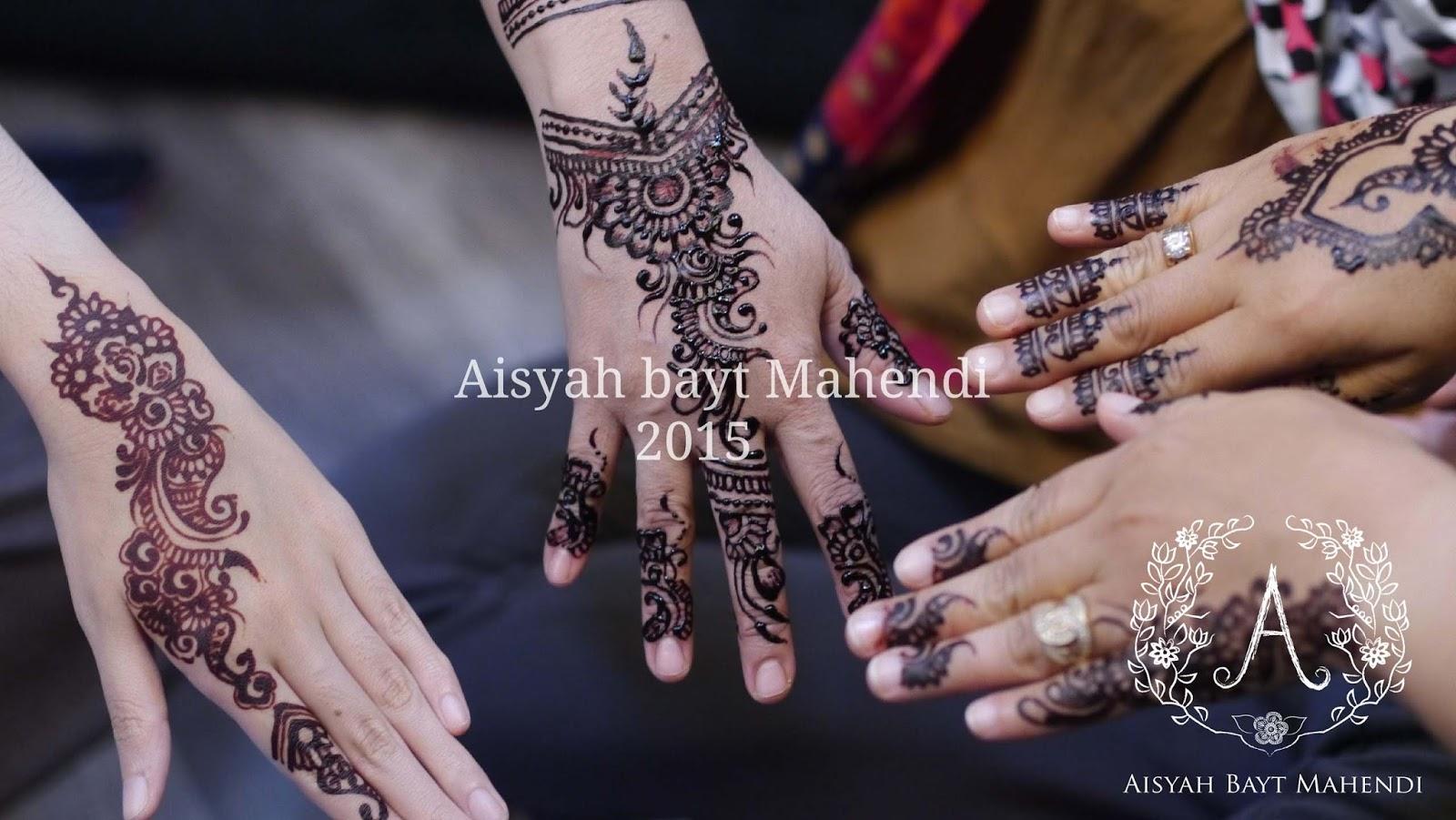 Aisyah Bayt Mahendi Henna Picture
