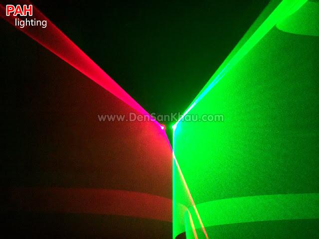 Hiệu ứng đèn Bicolor Red Green