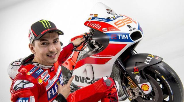 Jorge Lorenzo Tim Ducati MotoGP.