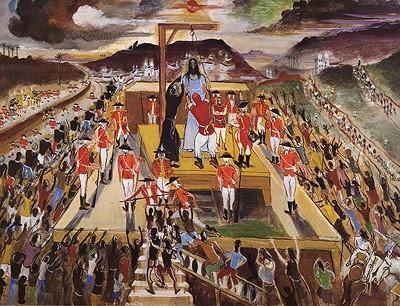 Execução de Tiradentes - Guignard e suas pinturas ~ Pintor de Minas Gerais
