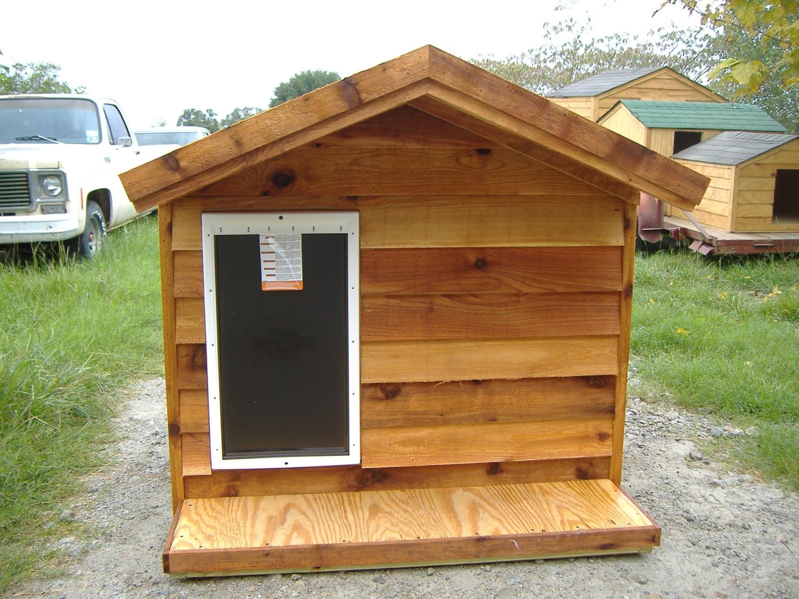 Extra Large Ac Dog House | Custom Ac Heated Insulated Dog ...