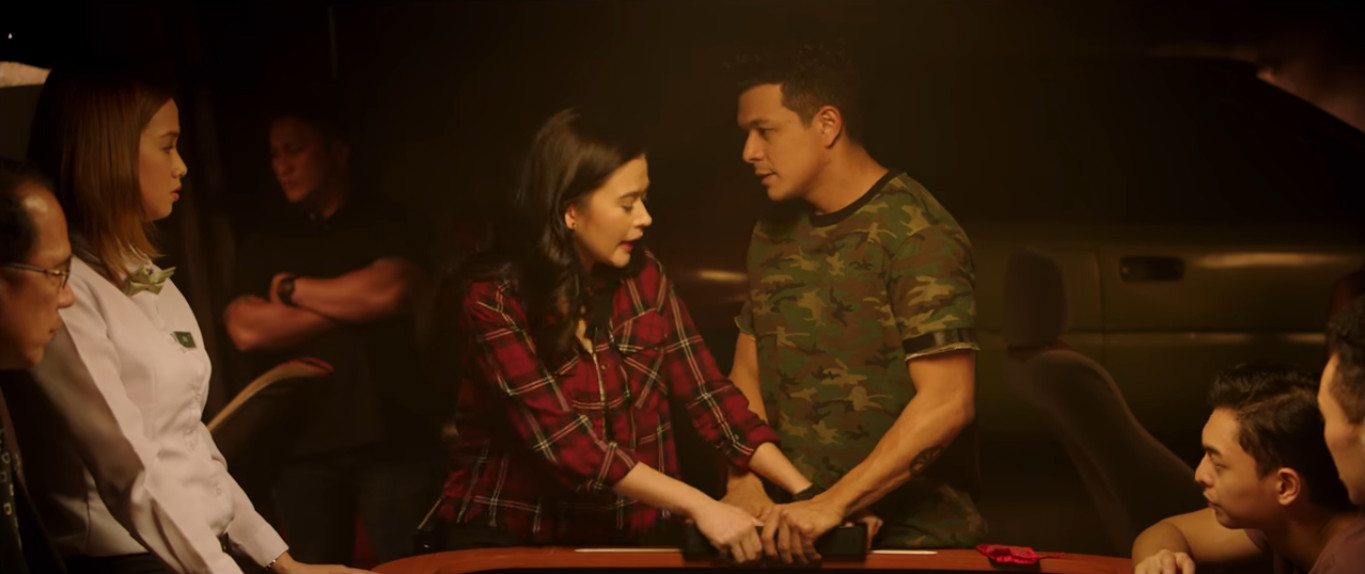 Luck at First Sight 2017 viva films featuring Bela Padilla and Jericho Rosales love team about life charm, good luck, gambling, and falling in love