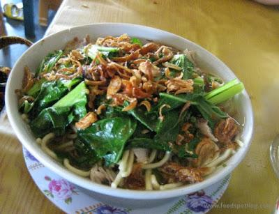 Kuliner Indonesia - Mi Ayam Mas Topan