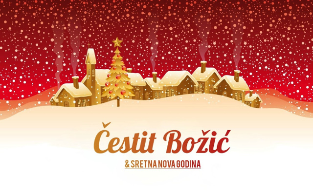 božićne i novogodišnje čestitke slike Čestitke za Novu godinu: Čestit Božić i sretna Nova godina božićne i novogodišnje čestitke slike