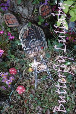 erfly Lullaby - Sharon J. Bainbridge: Pink fairy house, fairy ... on