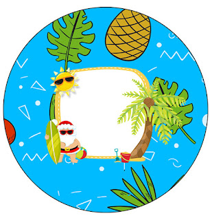 Christmas in the Caribbean: Free Printable Cupcake Wrappers and Toppers.