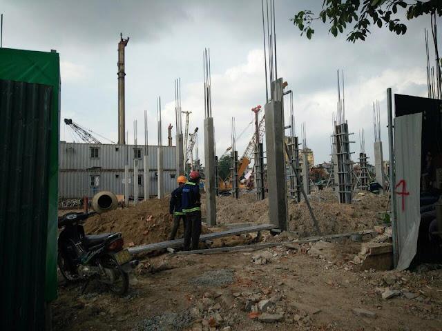 Tiến độ xây dựng dự án Vincom Shophouse Thanh Hóa 03/06/2016