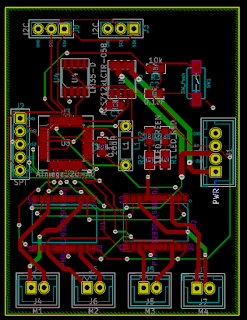 PCB layout 1